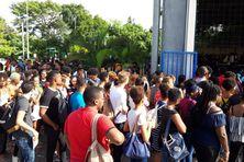 La rentrée des nouveaux étudiants à l'Université des Antilles (septembre 2018).