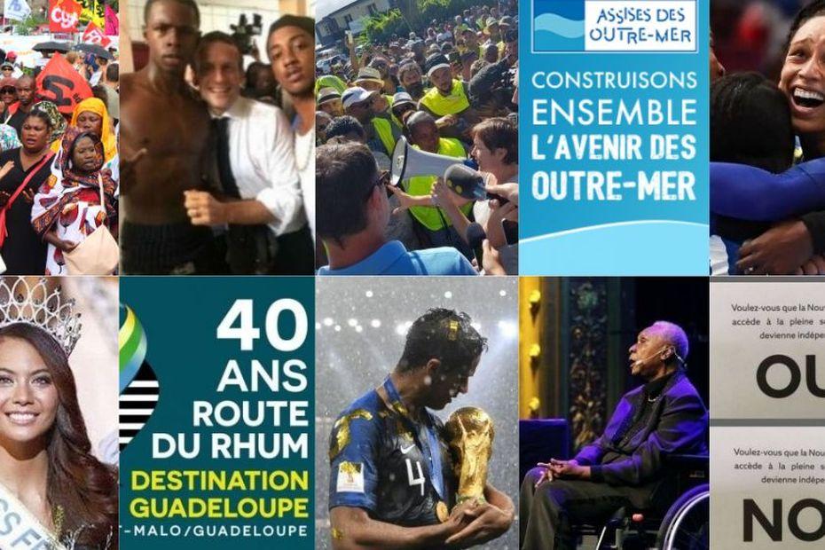 Rétrospective : les 10 événements qui ont marqué l'Outre-mer en 2018 - Outre-mer la 1ère