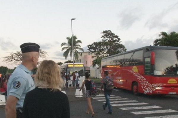 Contrôle des transport / bus scolaires