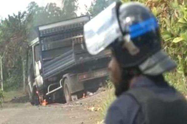 Affrontements à Mamoudzou dans le quartier de Tsoundzou
