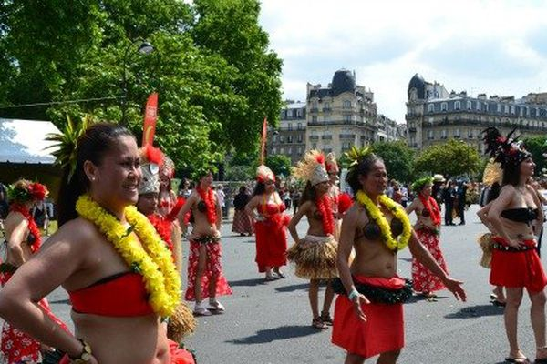 Troupe Iles Pacifique Sud