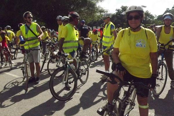 Les cyclistesd el'ORA