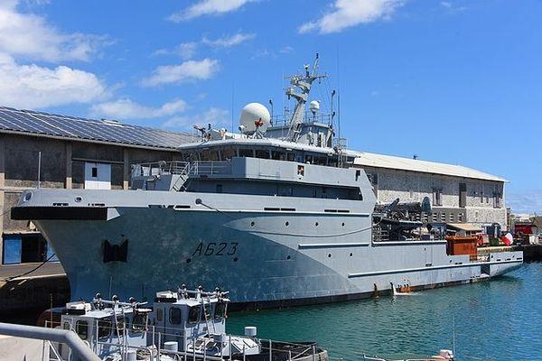 Le Champlain est en route vers Mayotte