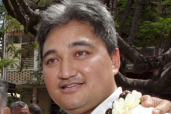 Le sénateur polynésien Richard Tuheiava