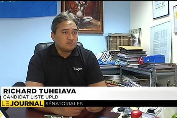 Sénatoriales : Richard Tuheiava dubitatif face à la candidature de Tauhiti Nena