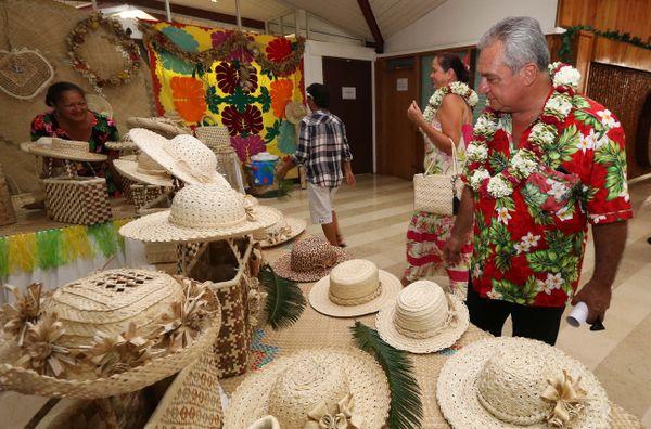 Le salon a été inauguré par le ministre de la culture en charge de l'artisanat