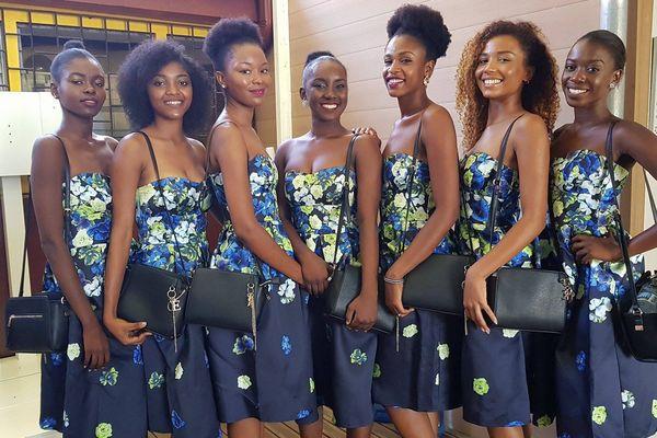 Candidates à Miss Mayotte 2017