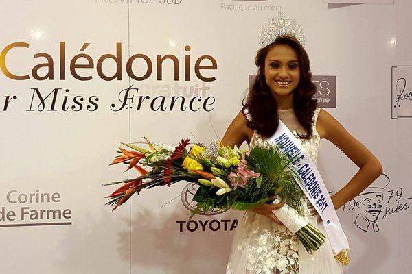 Lévina Napoléon, miss Nouvelle-Calédonie 2017
