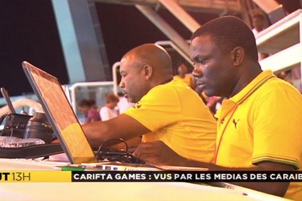Journalistes de la Caraïbe