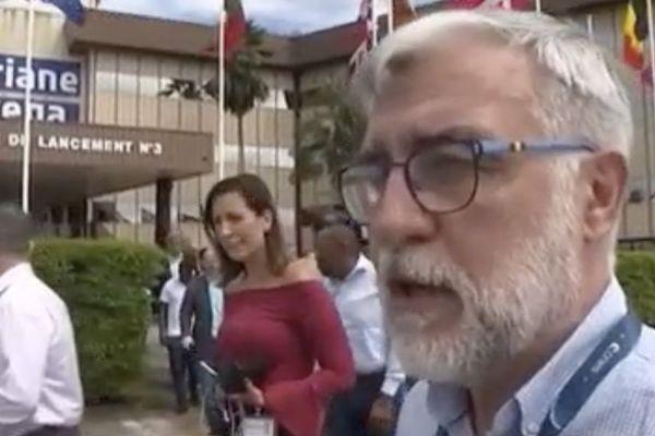Kourou : visite d'une délégation brésilienne au centre spatial Guyanais