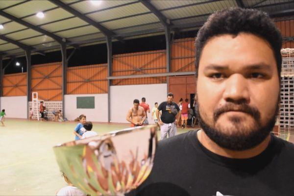 Futsal - Joueur de l'AS Poumaka