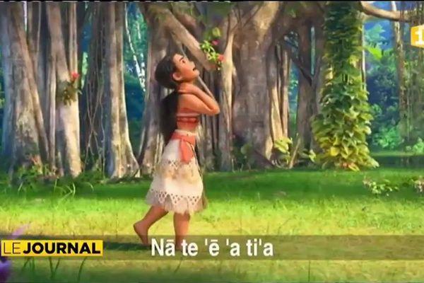 Vaiana en reo Tahiti