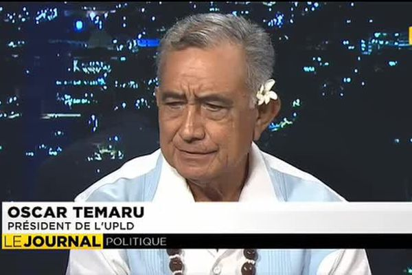 Oscar Temaru invité du journal