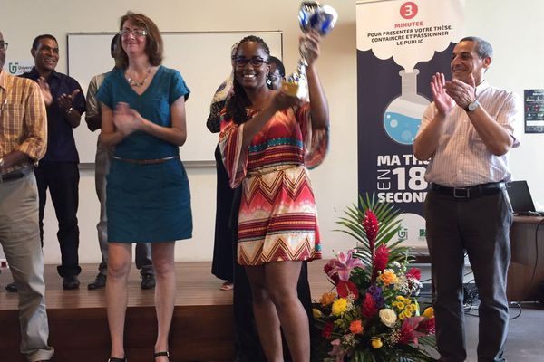 Samantha James la gagnante régionale 2016 de Ma thèse en 180 secondes