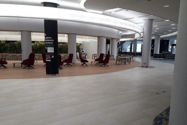 coronavirus: aéroport de tokyo quasi vide 27/03/20