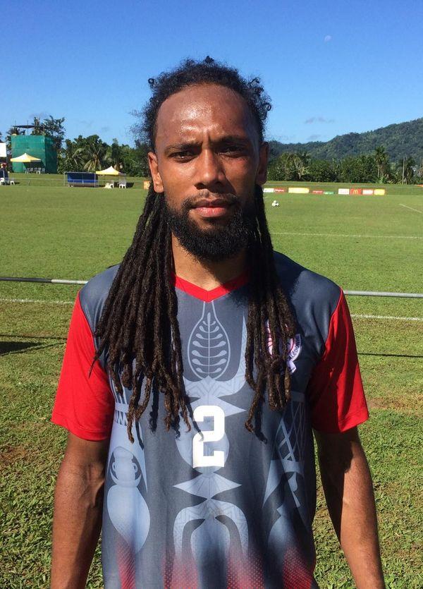 Samoa 2019, Jorys Mène, latéral droit foot calédonie