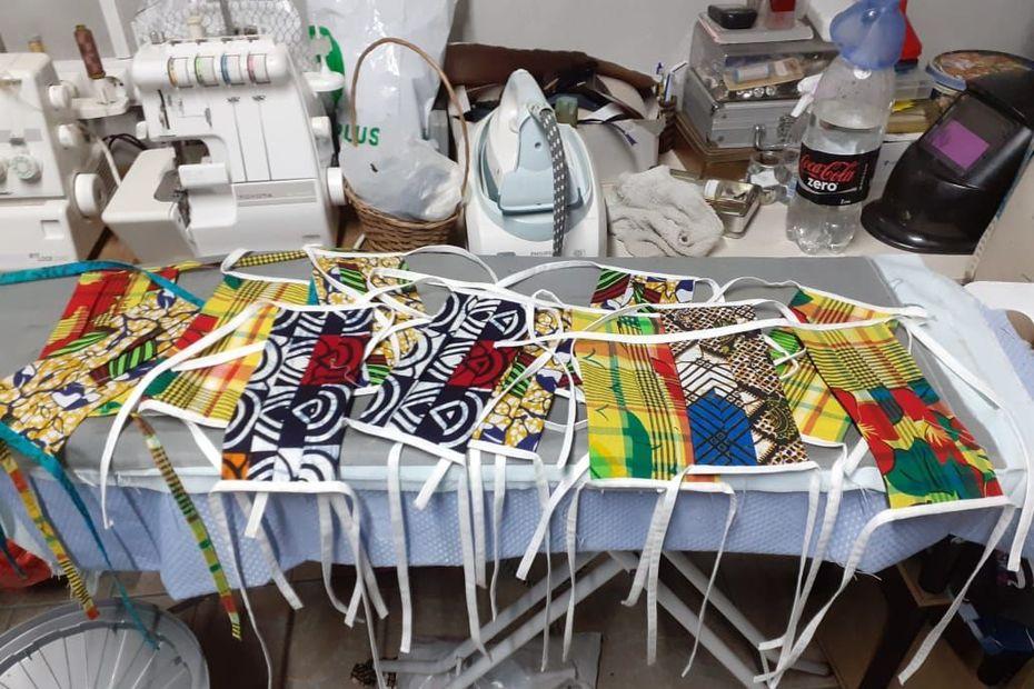 Les couturiers guadeloupéens proposent leurs gammes de masques de protection sanitaire - Guadeloupe la 1ère