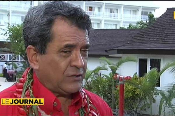 Politique : Edouard Fritch rencontre Manuel Vals à Auckland