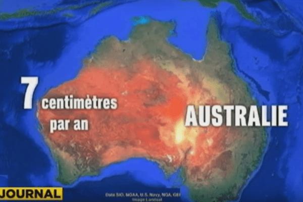 L'Australie se déplace