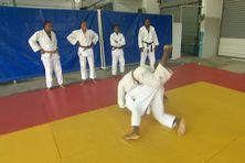 séance d'entraînement des judokas du pole espoir