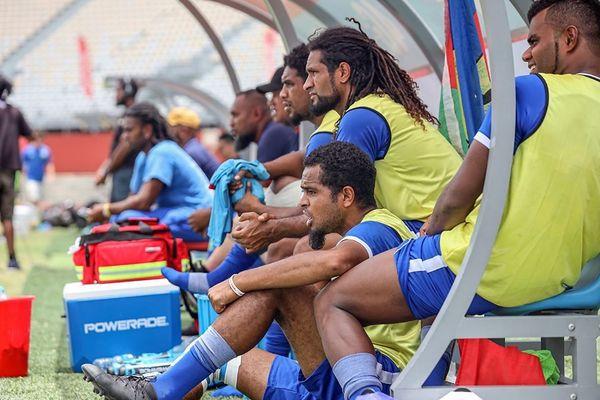 Les principaux cadres de Hienghène n'ont pas débuté le match.