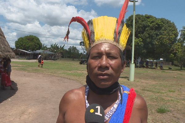 Aïmawalë Opoya, chef coutumier de Twenké Taluen