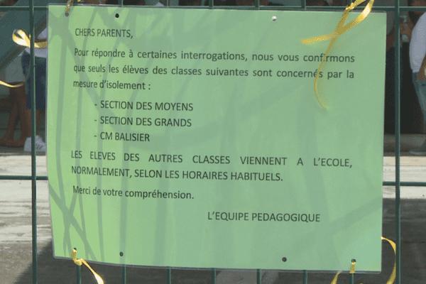 Décision de fermeture de trois classes à Mortin à Cayenne