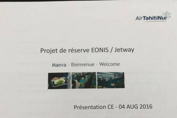 Contrat de sous-traitance ATN et société Jetways/Eonis