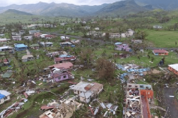 Fidji ravagée par le cyclone Winston en février dernier