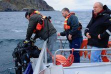 Les deux plongeurs du CNRS ont été secourus à 15h30 par la SNSM.