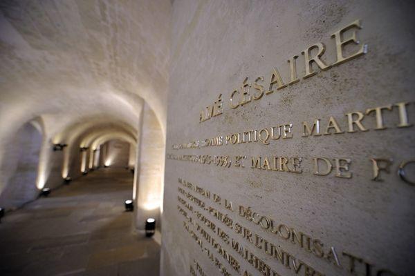 Césaire au Panthéon