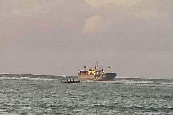 Bateau chinois échoué à l'île Maurice 7 mars 2021