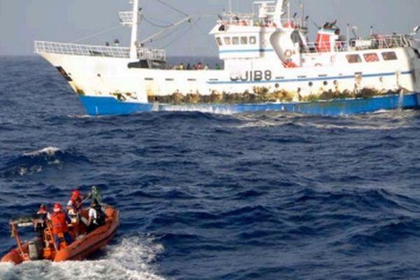 Arraisonnement pêche illégale