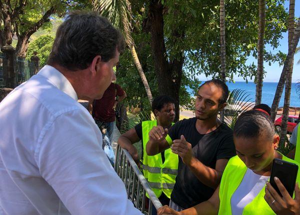Gilets jaunes préfecture rencontre maires Girardin 1