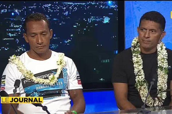 Hawaiki nui va'a c'est fini, le retour des rameurs à Tahiti