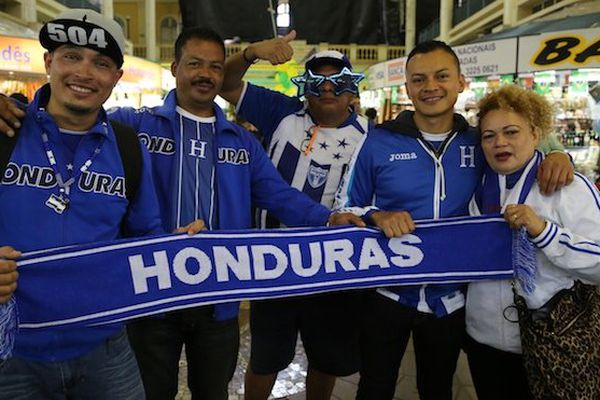 supporters honduras
