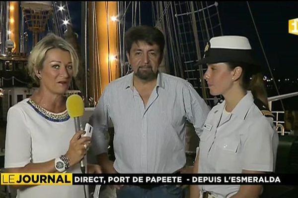 La belle Esmeralda : le joyaux de la marine chilienne