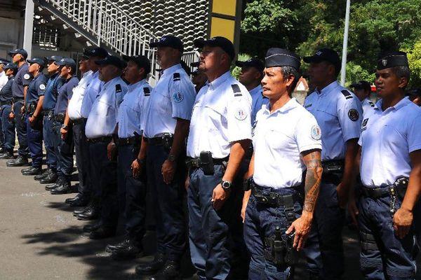 hommage policier tué