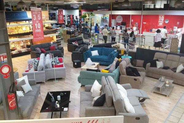 Le secteur de la vente de mobilier se porte bien