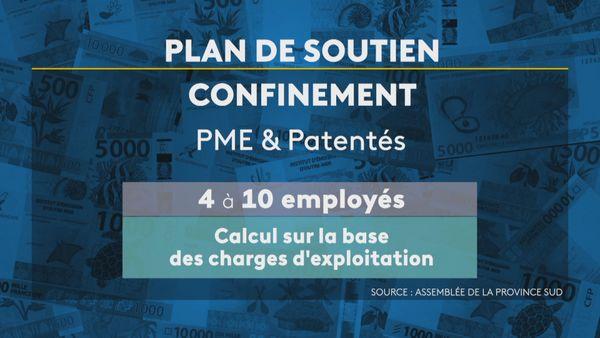 Province Sud aides aux PME et patentés