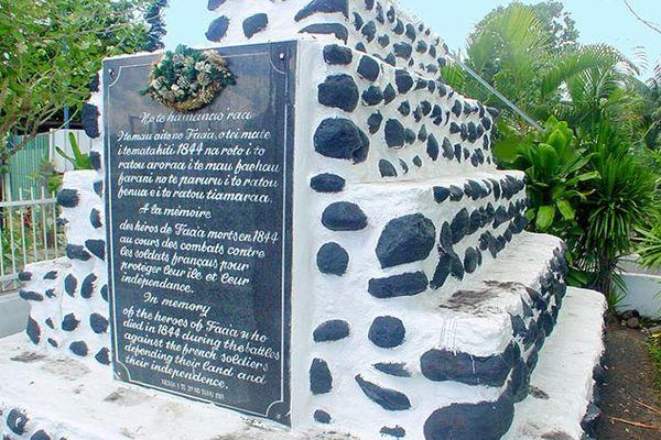 29 juin : les indépendantistes se rappellent des guerres franco-tahitiennes