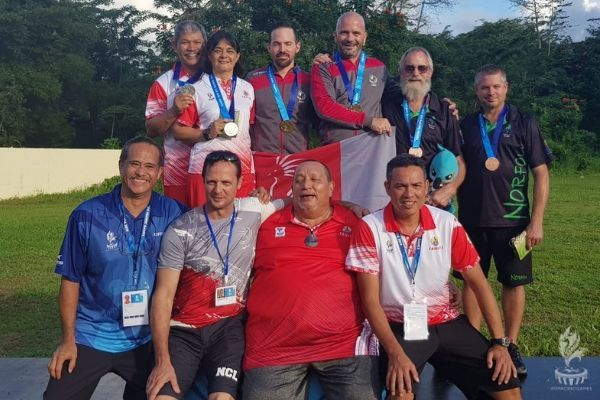 Samoa 2019, médaillistes du tir sportif