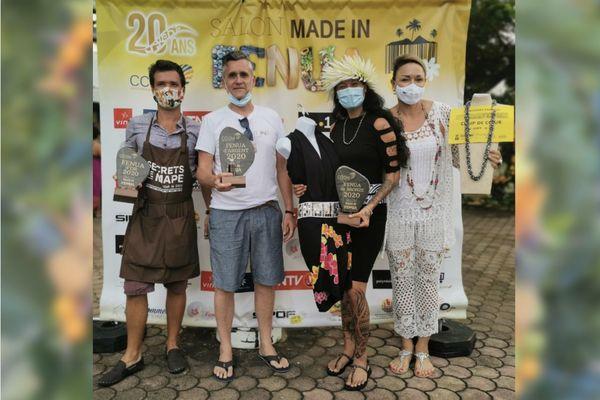 Les lauréats du 20e salon Made in Fenua