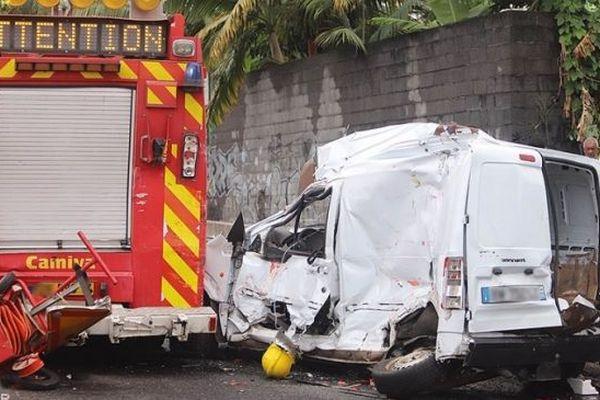Un pompier décède lors d'une intervention sur un accident à Saint-André