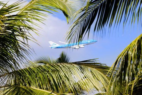 avion KLM St martin