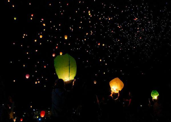 Lâcher de lanternes Nouméa 2017