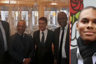 Soutiens Valls et Hamon