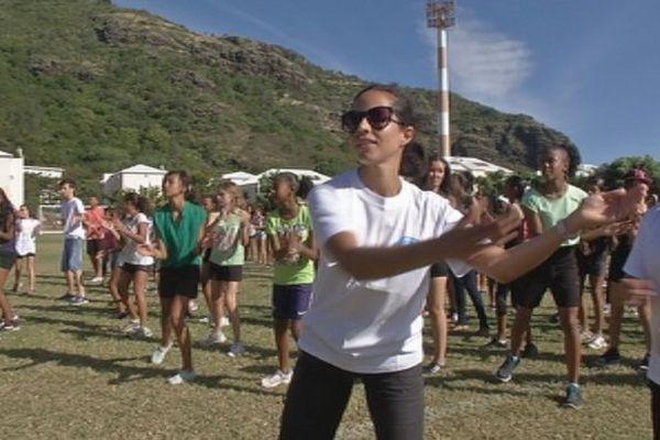 Flashmob des collégiens