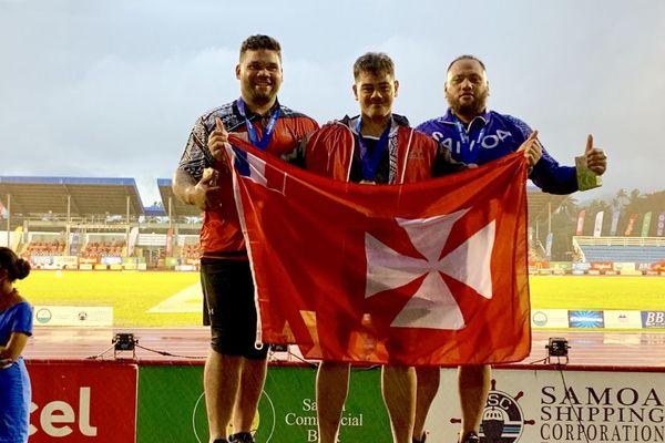 Médaille disque Samoa 2019