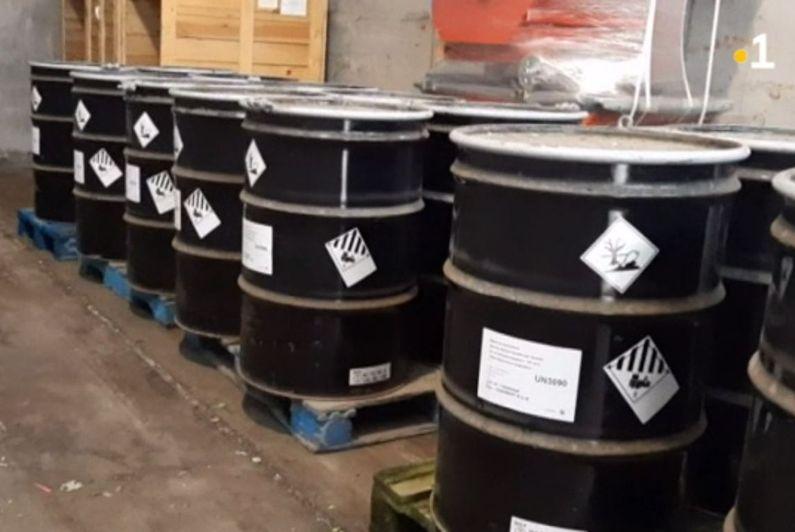 11 tonnes de déchets sensibles exportés vers la France à bord du BSAM Garonne